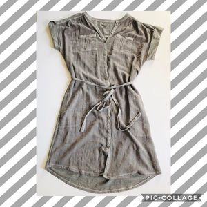 Lucky Brand NWOT button up dress